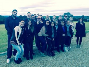 Cassie & friends touring wineries in the Barossa for the Barossa Gourmet Weekend August 2014.